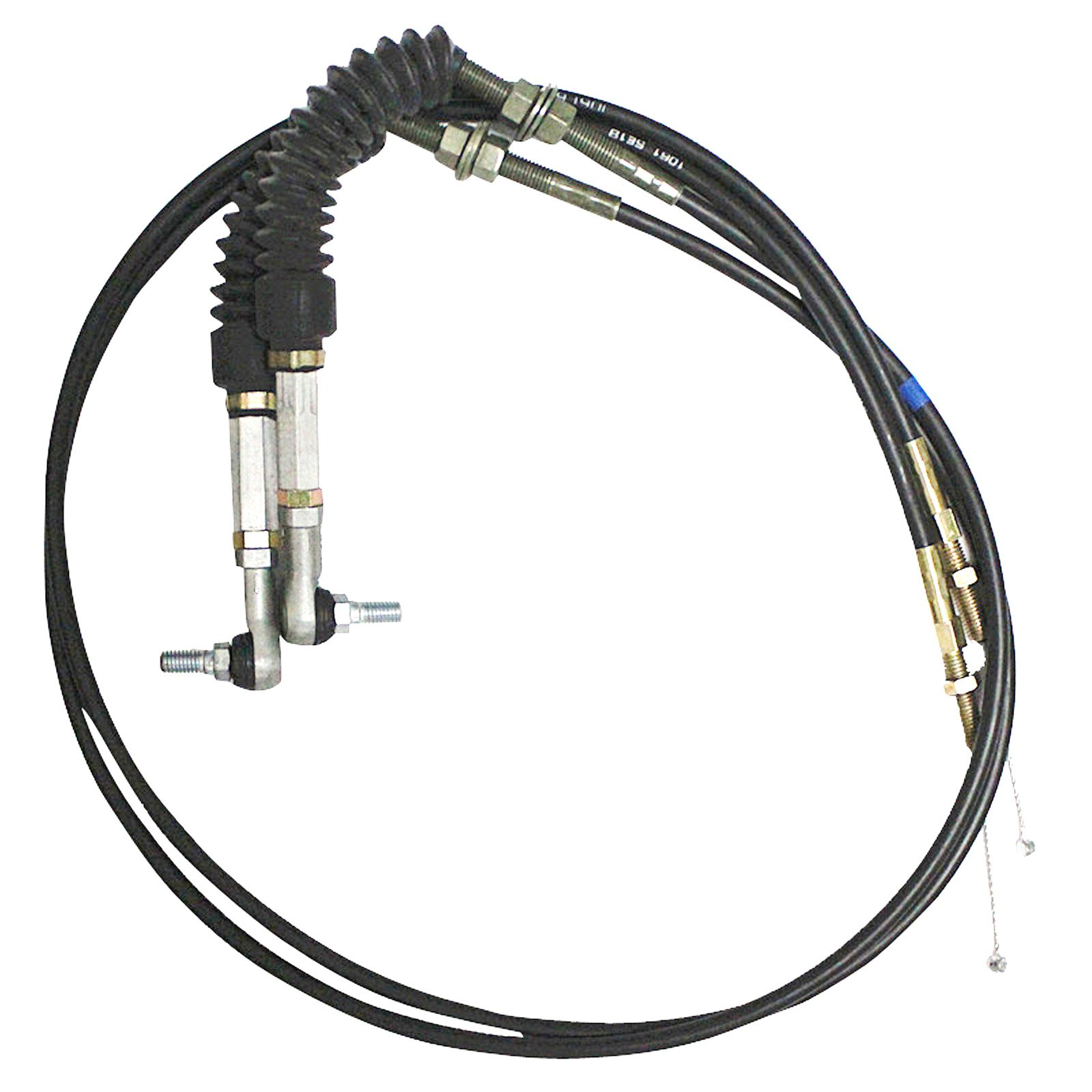 SINOCMP Double Cable for Caterpillar 312 E312 E312A Excavator Throttle Motor Parts 3 Month Warranty
