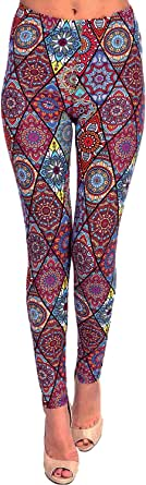 VIV Collection Popular Printed Brushed Buttery Soft Leggings Regular Plus 40+ Designs List 4