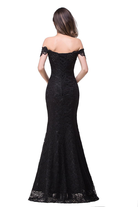 910e01ab83b3 Babyonlinedress Babyonline Off Shoulder Lace Long Bridesmaid Maxi ...