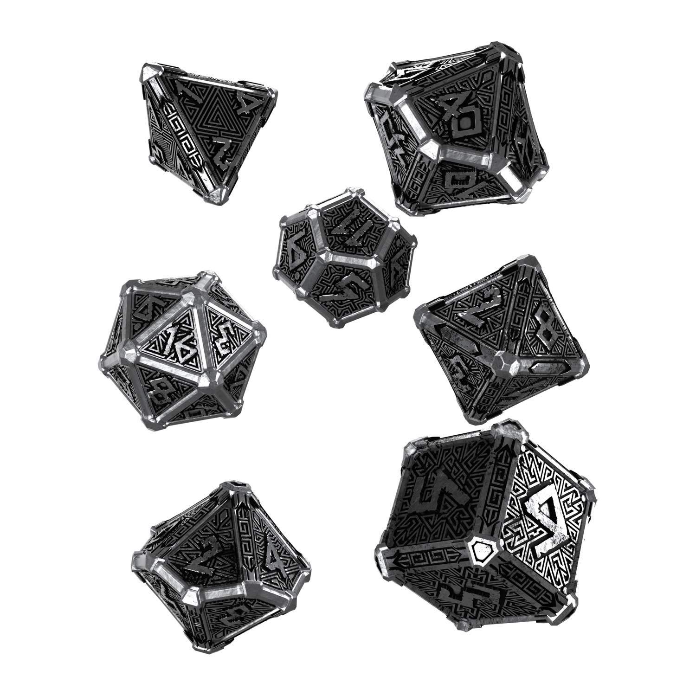 Q Workshop Mythical Metal Dice Set