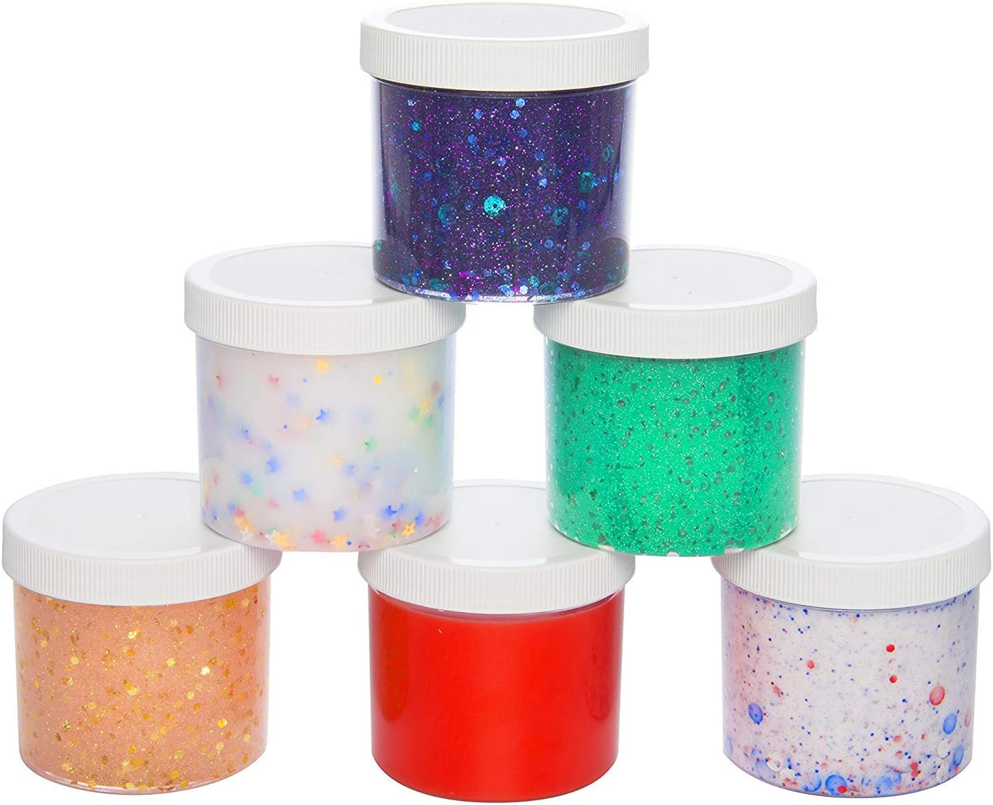 12-Pack Slime in individual containers New