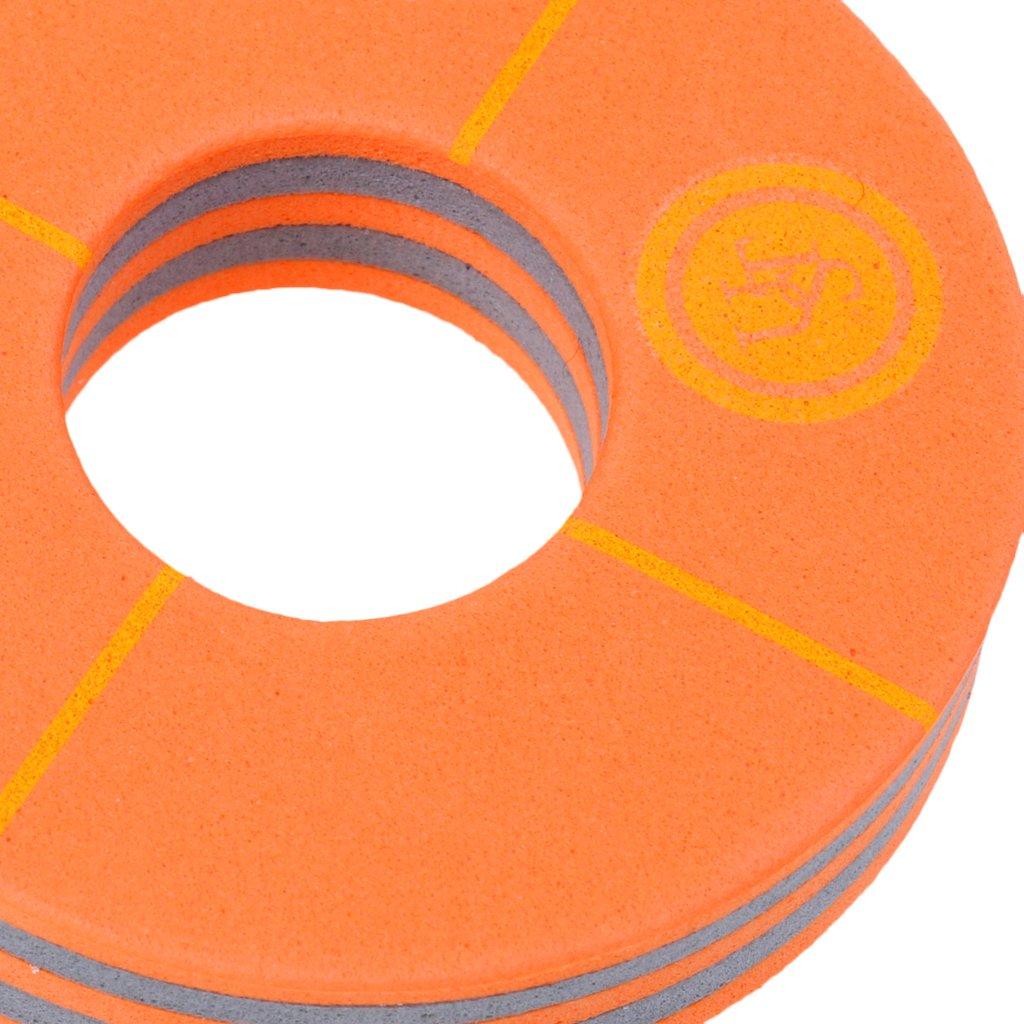 Sharplace 5 St/ück Packung Schwimmende Schl/üsselanh/änger mit Schl/üsselring Orange