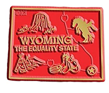 Amazon.com: Wyoming State Map Magnet: Home & Kitchen