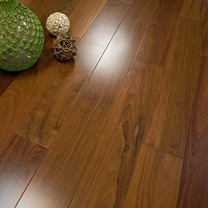 Brazilian Walnut Prefinished Solid Wood Flooring Clear Grade 5 X