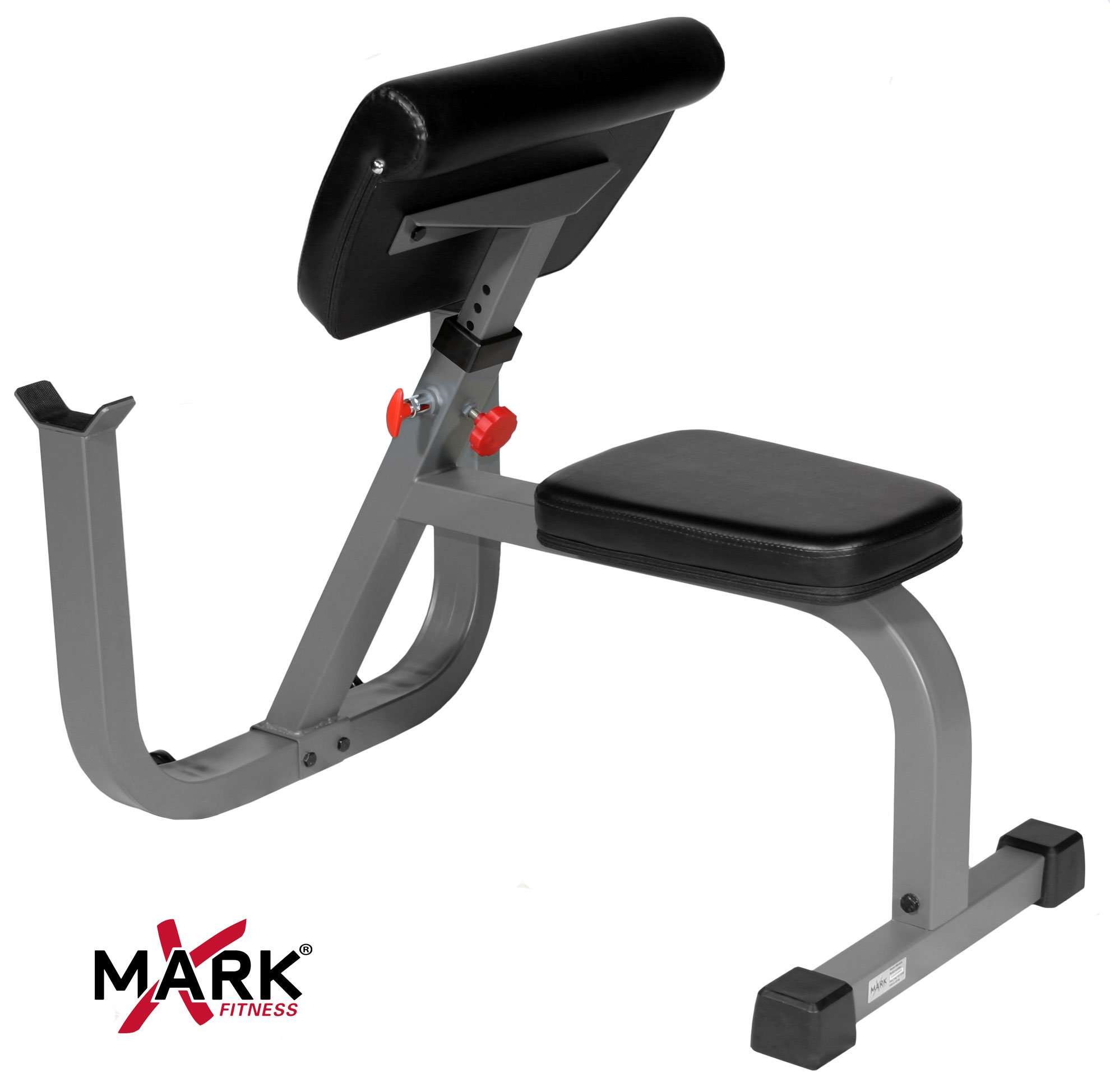 XMark Seated Preacher Curl Weight Bench XM-4436 by XMark Fitness (Image #2)