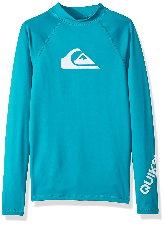Quiksilver Boys' Big Time Long Sleeve Surf Tee Rashguard EQBWR03047