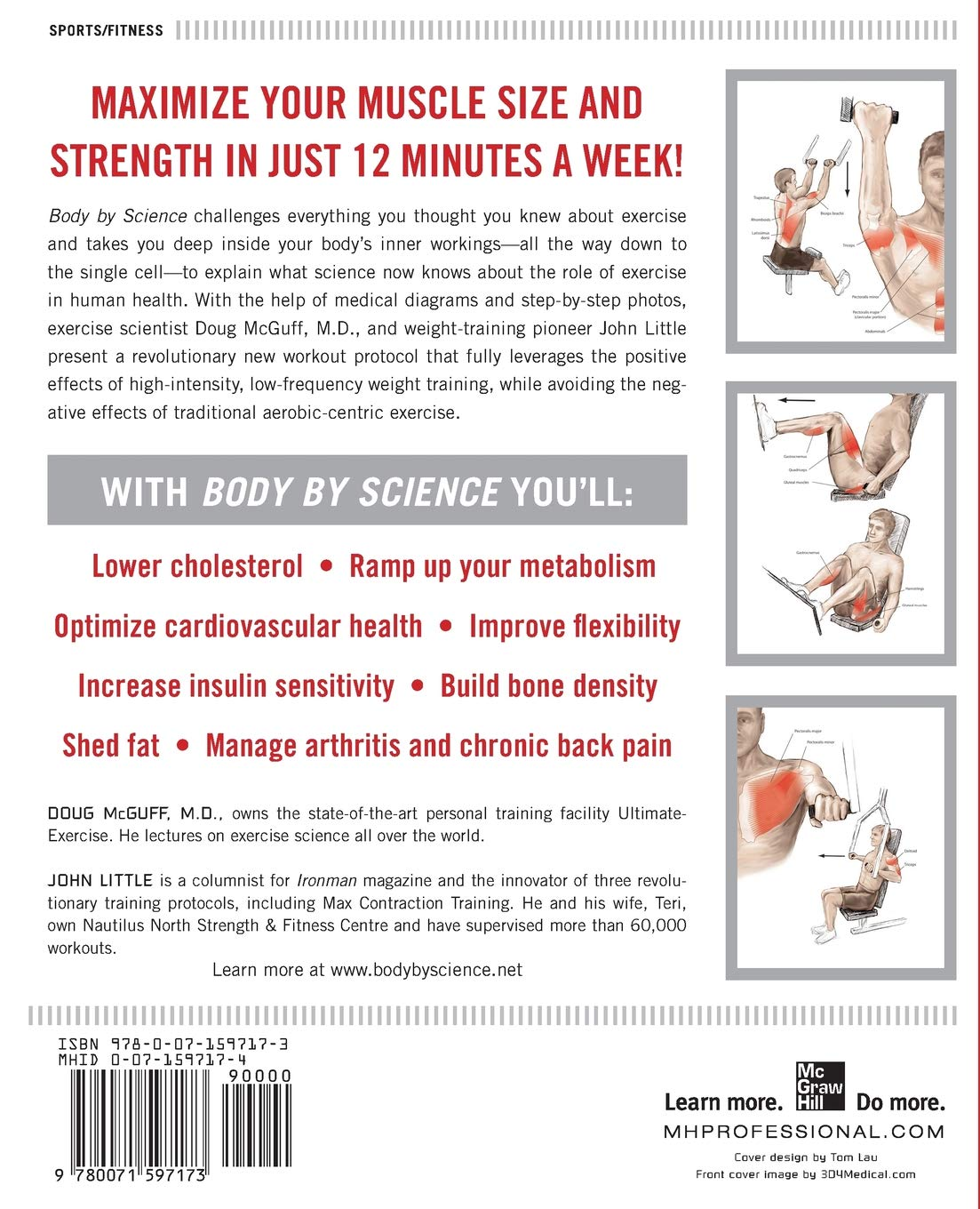 Body By Science A Research Based Program For Strength Training