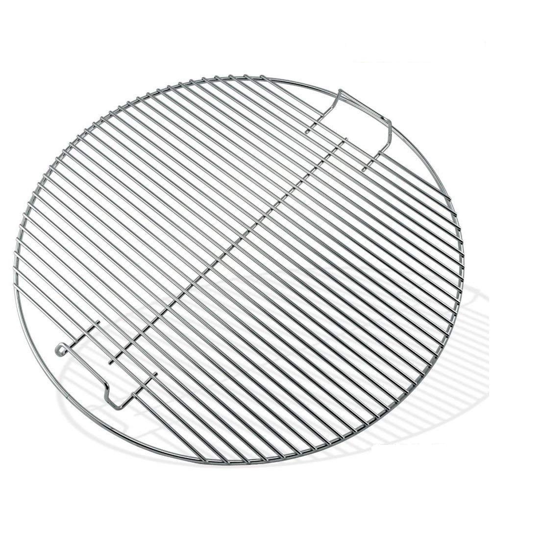 47CM One-Touch Weber charcoal grills Bar.B.Q.S 44.45CM Replacement Cooking Grid Grates for Weber 7432 Kettle Grill Heavy Duty Fit 18.5 Bar-B-Kettle charcoal Smokey Mountain Cooker smoker Gas Grill