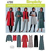 Simplicity 4789 - Patrones de costura para hacer
