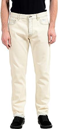Amazon Com Gucci Pantalones Vaqueros Para Hombre Con Pierna Recta Talla 41 Clothing