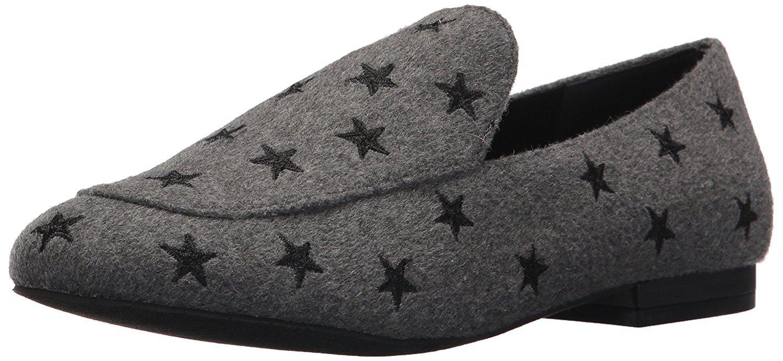 Kenneth Cole New York Women's Westley 5 Star Loafer Flat, Grey, 8 Medium US