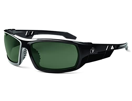 Skullerz Odin Polarized Safety Sunglasses - Black Frame, G15 Lens