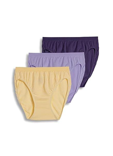 Jockey Mujer Ropa interior Comfies algodón corte francés – 3 unidades - Amarillo -