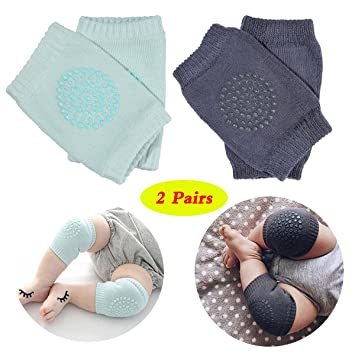 Color:dark gray Comfortable Newborn Baby Knee Pad Kids Safety Breathable Crawling Elbow Knee Protective Pad Warmers For Infant Toddlers