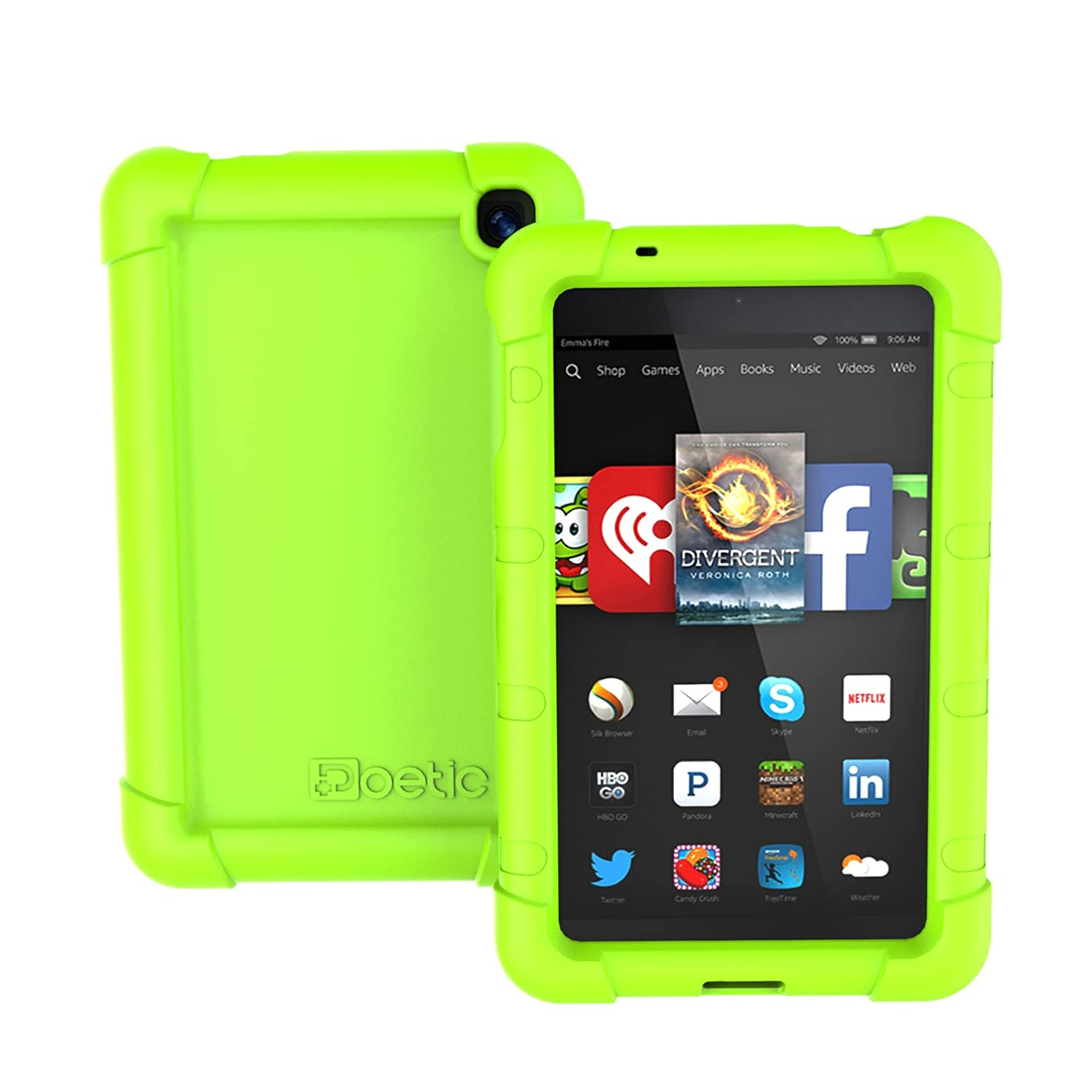 Poetic Turtle【rugged Impact】silicone Case For Amazon
