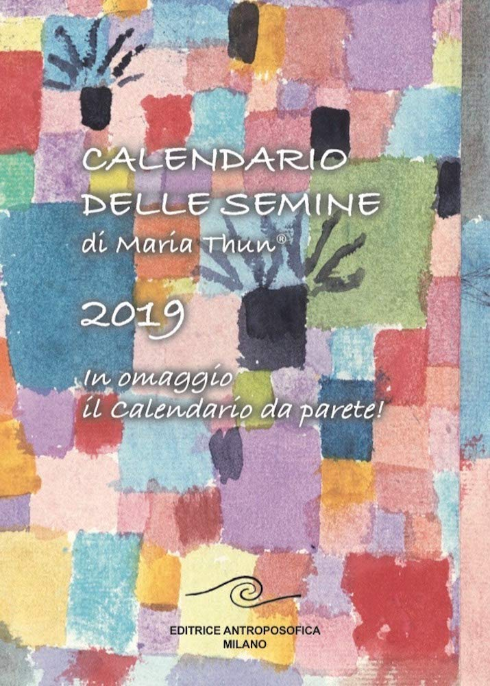 Calendario Semine 2020.Amazon It Calendario Delle Semine 2019 M Thun Libri