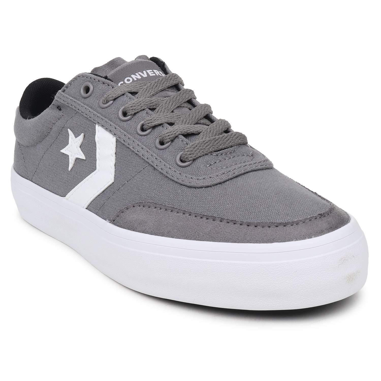 Converse Men Grey White Canvas Shoes