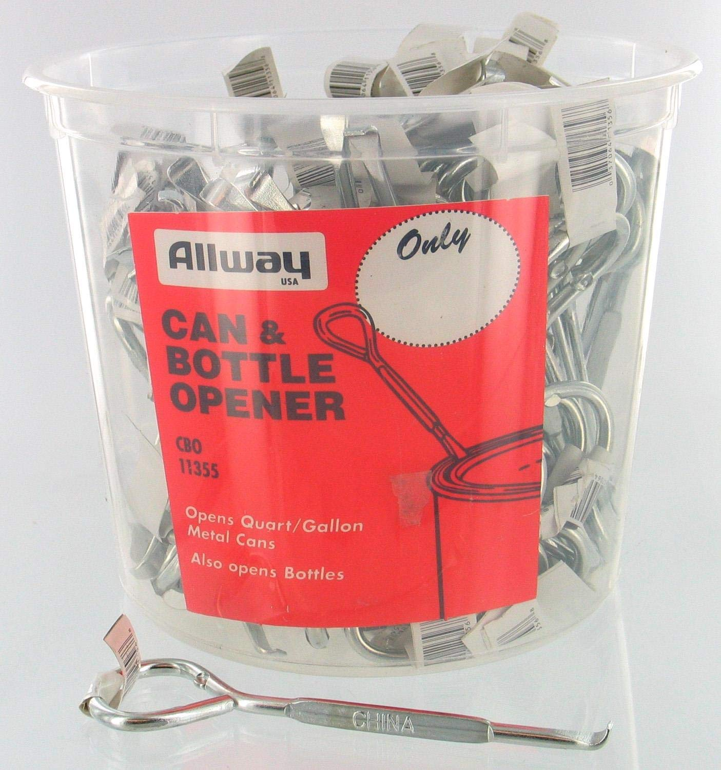 Allway Tools Cbo100 Can/Bttl Opener 100/Bkt by Allway Tools