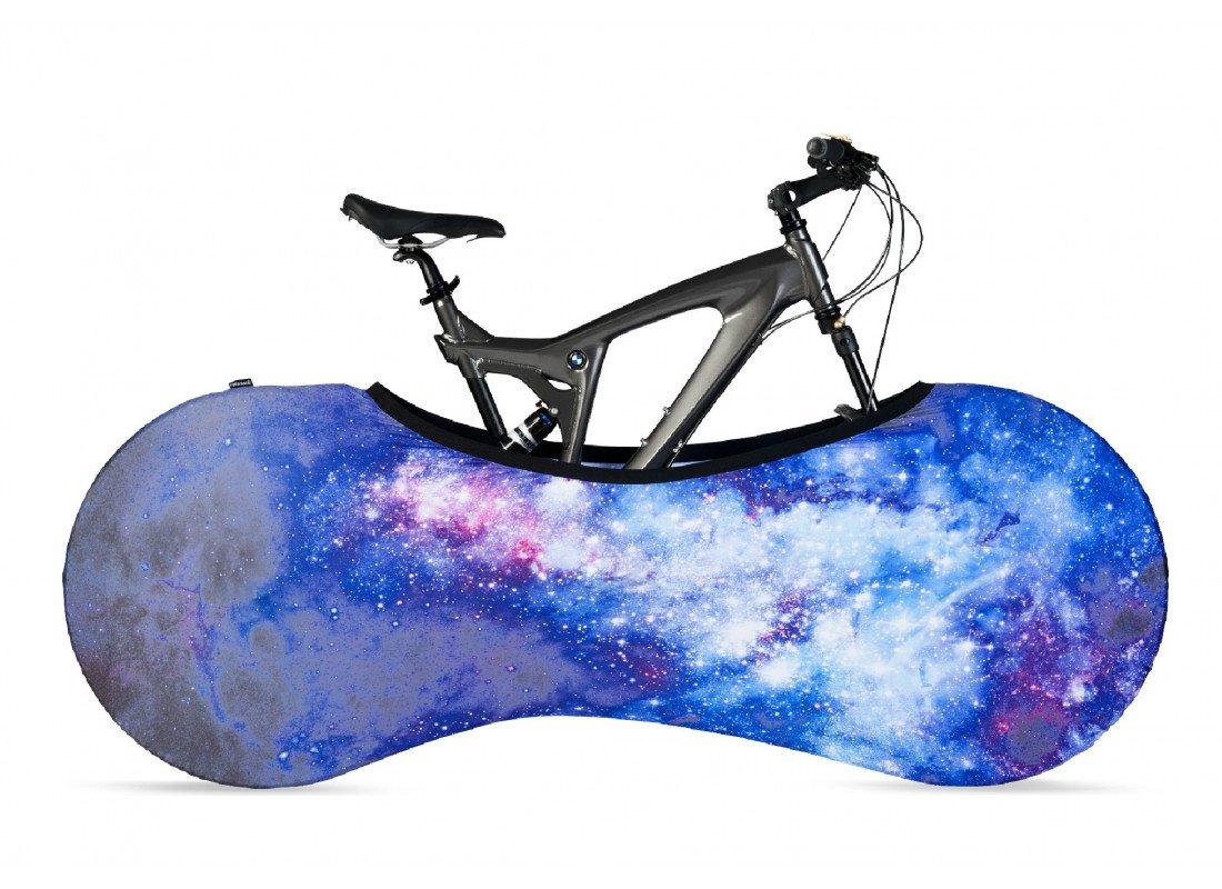 VELOSOCK ギャラクシーエントランス、オフィス、店舗用 自転車屋内収納カバー 大人用 フリーサイズ DIRT-FREE - 大人用自転車に99%フィットサイズ:1.6 - 2 m の長さの自転車に適しています   B01M68IMLI