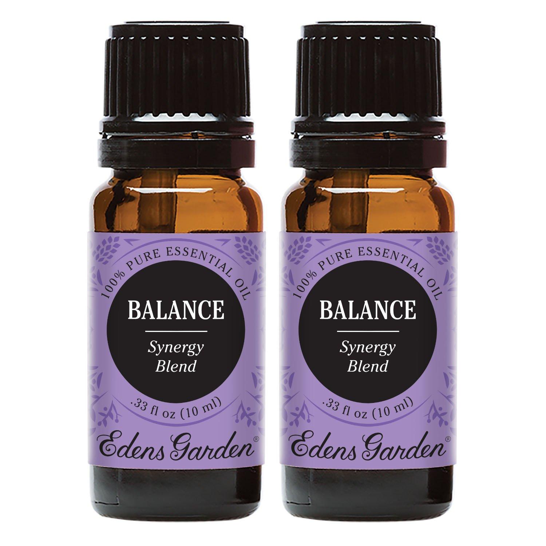 Edens Garden Balance Value Pack 100% Pure Therapeutic Grade GC/MS Tested (Lavender, Geranium, Sandalwood)
