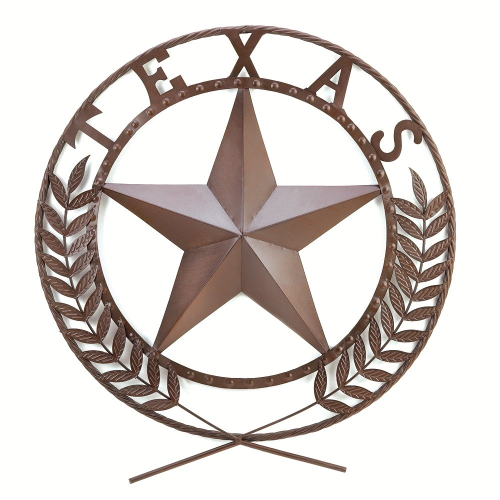 Amazon Gifts Decor Texas Lone Star State Hanging Western Theme Wall Plaque Home Kitchen