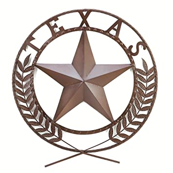 Gifts Decor Texas Lone Star State Hanging Western Theme Wall Plaque