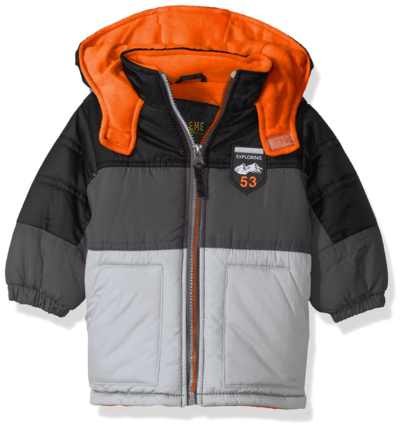 iXtreme Boys Coloblock Puffer W//Patch 94305