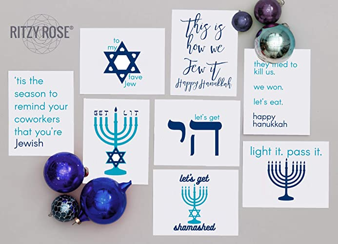 Hanukkah Greeting Cards Funny Handmade Jewish Holiday