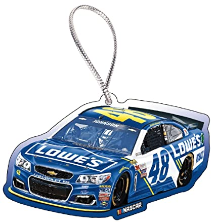 jimmie johnson lowes 9 square inch nascar christmas ornament only 125 made - Lowes Christmas Ornaments