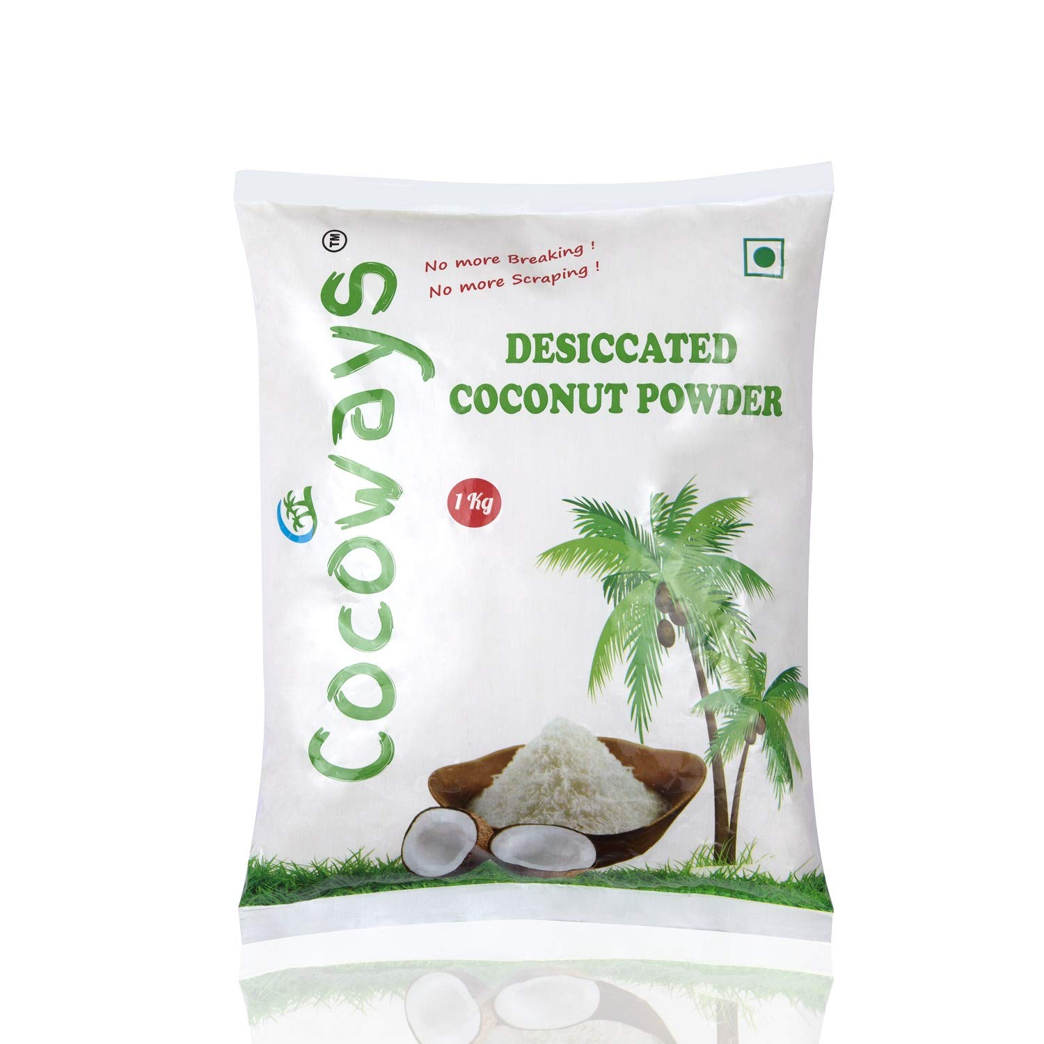 Cocoways Desiccated Coconut Powder 1kg: Amazon.in: Grocery ...