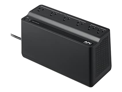 Schneider Electric APC UPS 425VA UPS Battery Backup & Surge Protector, APC  UPS BackUPS (BE425M)