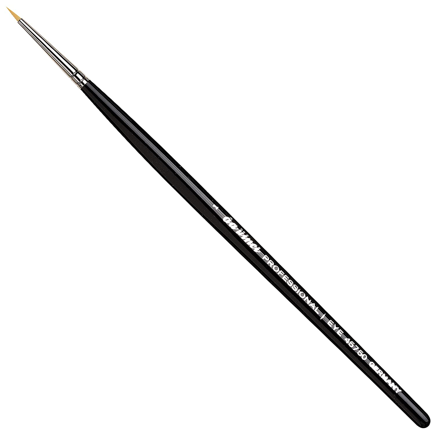 da Vinci Cosmetics Professional Series 45750 - Eyeliner Brush, Pointed Round, Fine Synthetic Fibers - For precise application of Kohl Kajal, humid powder, liquid eyeliner and gel eyeliner: Beauty