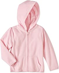 085d33776 Garanimals Baby Toddler Girl Micro Fleece Solid Hoodie