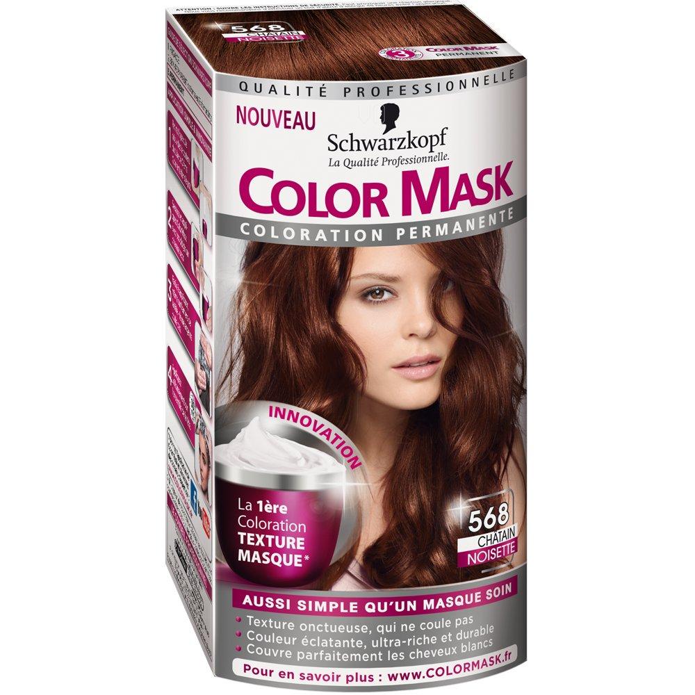 Bien connu Schwarzkopf - Color Mask - Coloration Permanente pour Cheveux  JD19
