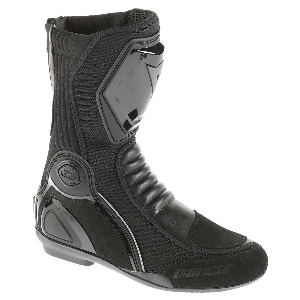 Daytona Spirit GTX Stivali in Pelle da motociclista da uomo/ /Nero