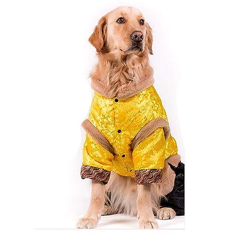 Ropa para Perros Traje Tang Perro Grande Golden Retriever ...