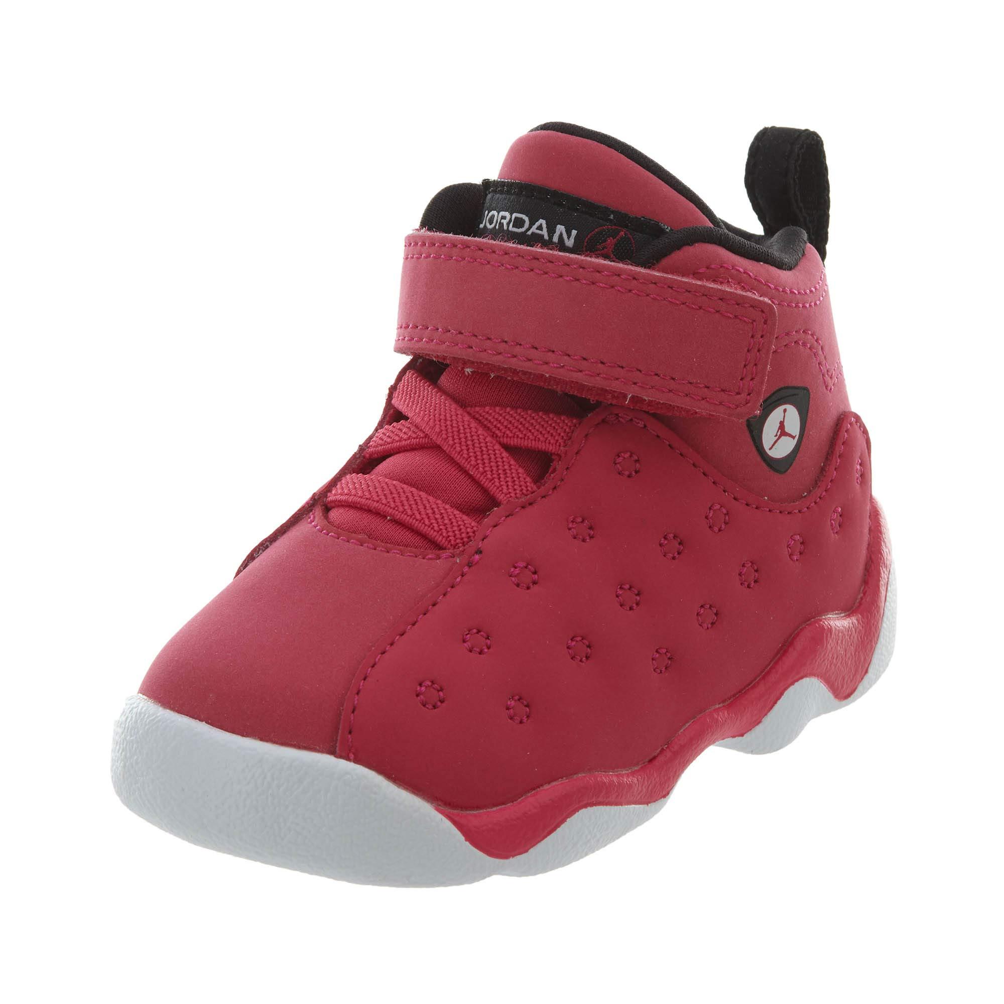 Jordan Toddler Jumpman Team II TD Rush Pink Black Dark Smoke Gry Size 9