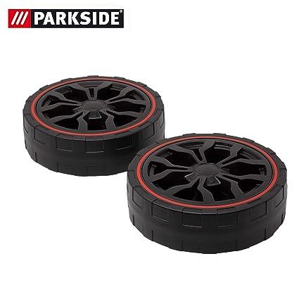 Juego de rueda delantera de repuesto para cortacésped Parkside PRM 1800 A1 - LIDL IAN 297201