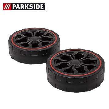 Juego de rueda delantera de repuesto para cortacésped Parkside PRM ...