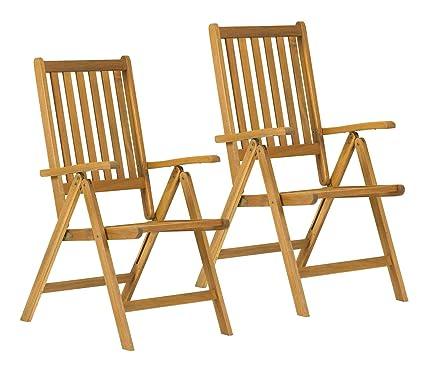 Manhattan Recliner Garden Furniture Hardwood Chair   FREE UK Mainland  Delivery: Amazon.co.uk: DIY U0026 Tools