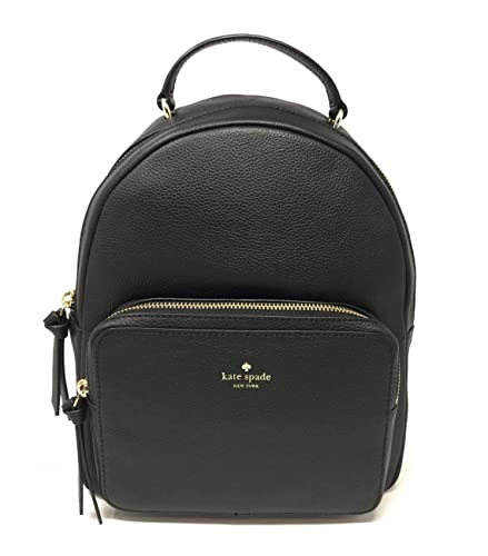 11f7be3884c3 Amazon.com  Kate Spade New York Mini Nicole Larchmont Avenue Leather  Backpack Black  Sonic Gears