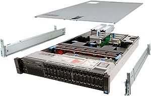 Dell PowerEdge R720 Server 2X E5-2640 2.50Ghz 12-Core 192GB 16x 1TB H310 Rails (Renewed)