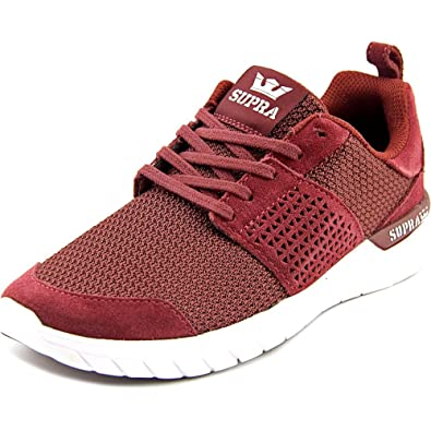 Supra - Zapatillas de Tela para Mujer Rojo Granate, Color Rojo, Talla 36.5 EU: Amazon.es: Zapatos y complementos