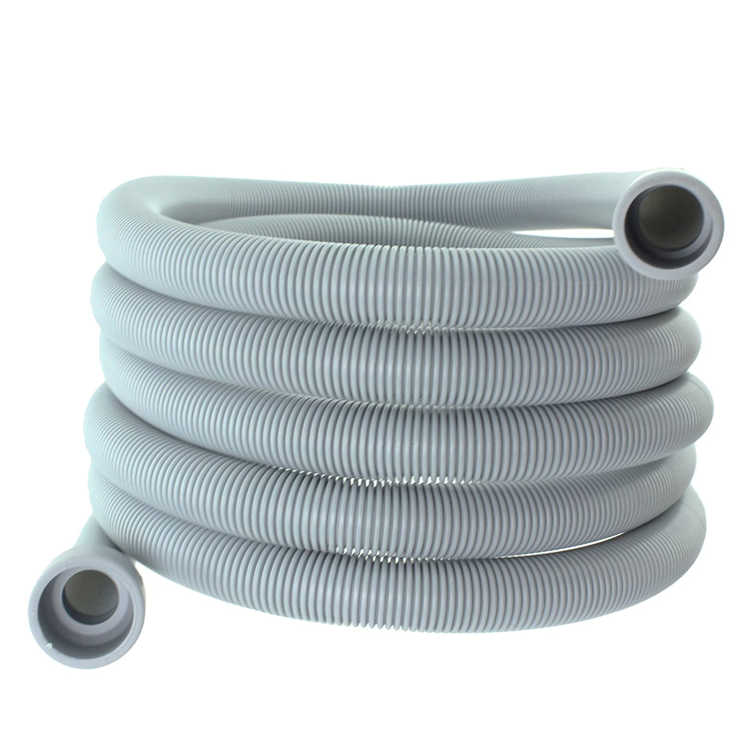 Spares2go Drain Hose Extra Long Water Pipe For Samsung Dishwasher (4M 29Mm & 22Mm Connection)