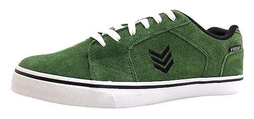 Vox Duffy - Zapatillas para Hombre Verde Verde, Color Verde, Talla 42.5: Amazon.es: Zapatos y complementos
