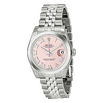 Amazon.com Rolex Datejust Pink Dial Women\u0027s Watch m178240