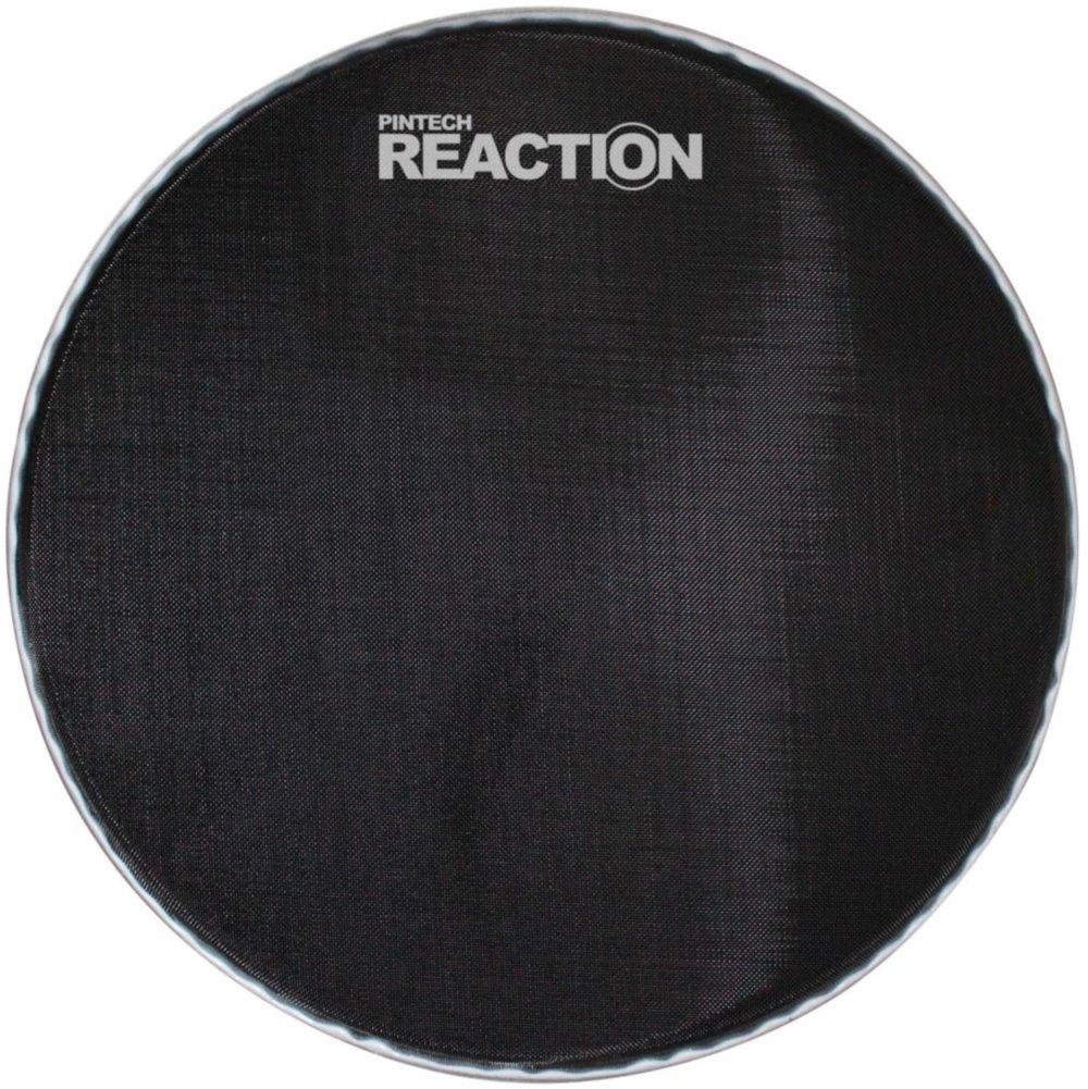 Pintech Percussion RH-22B Black Reaction Series Mesh Head 22'' by Pintech Percussion