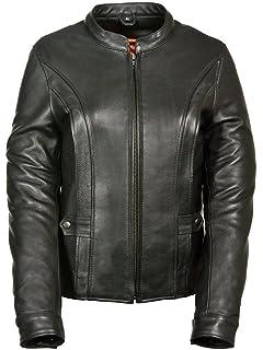 1501217 Laverapelle Mens Genuine Lambskin Leather Jacket Black, Classic Jacket