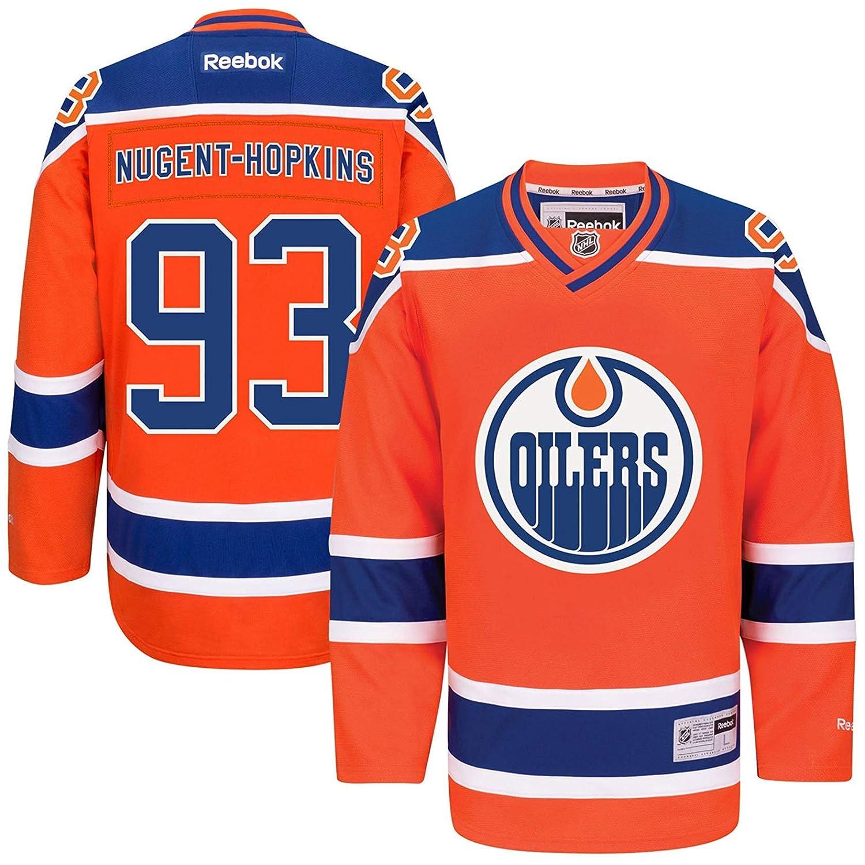 big sale 85798 91367 Amazon.com: Ryan Nugent-Hopkins Edmonton Oilers #93 Orange ...