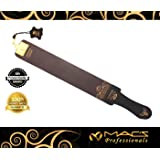 "Professional Quality Sharpening Strop Made of Real Leather 3"" Wide and 22"" Long Macs -2011G"